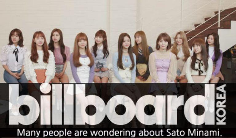 (อังกฤษ Sub) Billboard Korea พบกับ IZ * ONE
