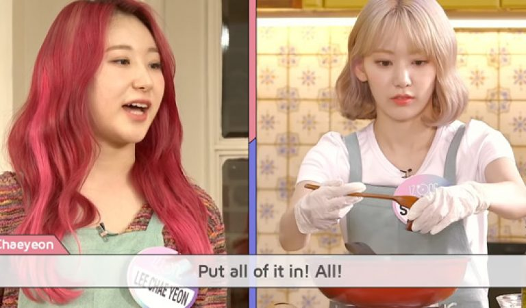 Watch: K-FOOD KITCHEN AVATAR with IZ * ONE ep 2 (Eng Sub)
