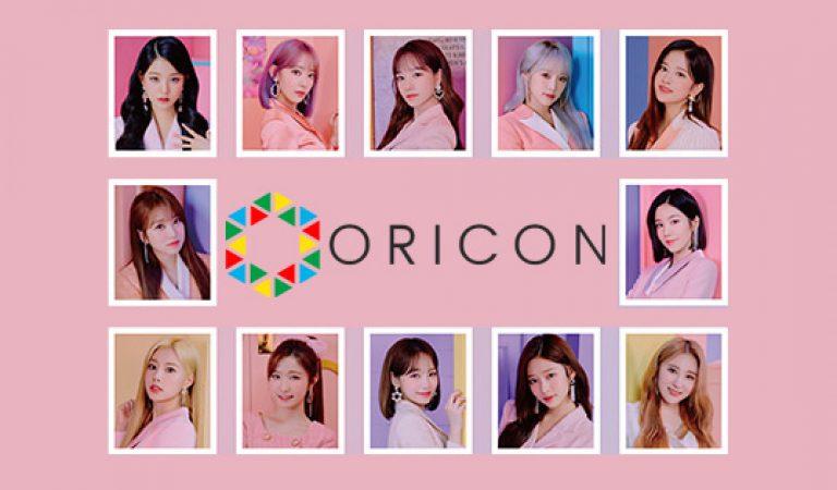 อัลบั้ม ORICON Album Chart ของ IZ * ONE