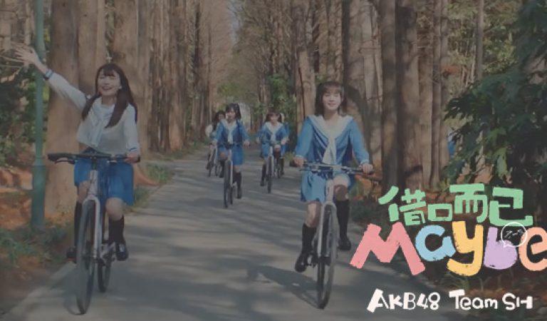 ชม: ตัวอย่าง MV ของ AKB48 Team SH Iiwake Maybe