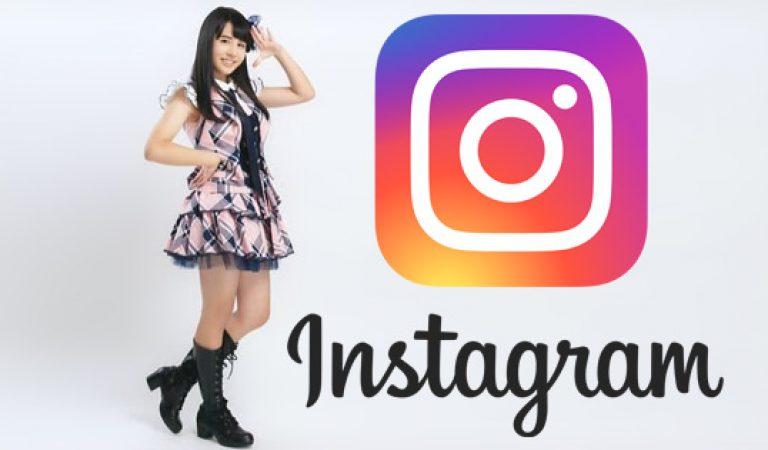 AKB48 Nagano Megumi เข้าร่วม Instagram