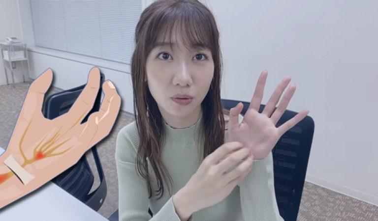 คาชิวากิ ยูกิ มีอาการเจ็บข้อมือ car