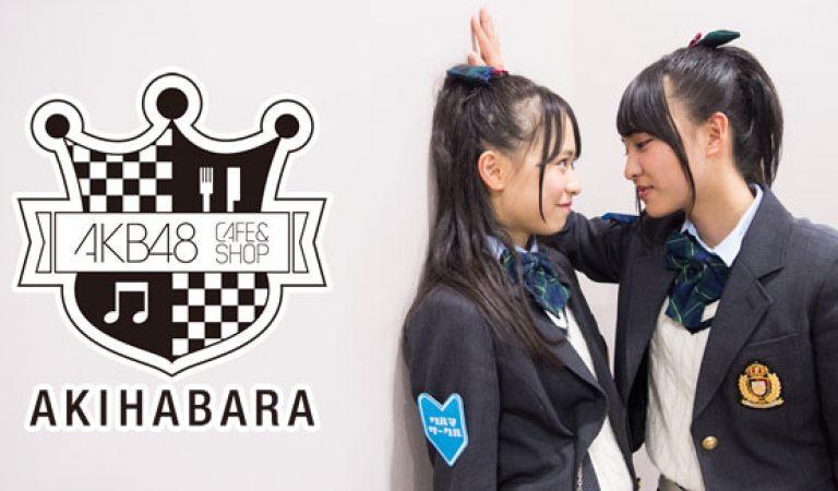 Kuranoo Narumi & Yamada Nanami จัดงานที่ AKB48 Cafe