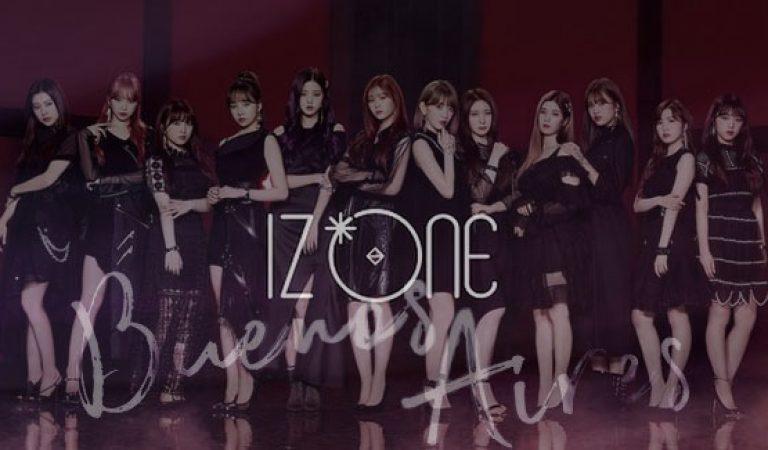 "IZ*ONE 2nd JAPAN Single ""Buenos Aires"" เปิดตัวคัฟเวอร์"